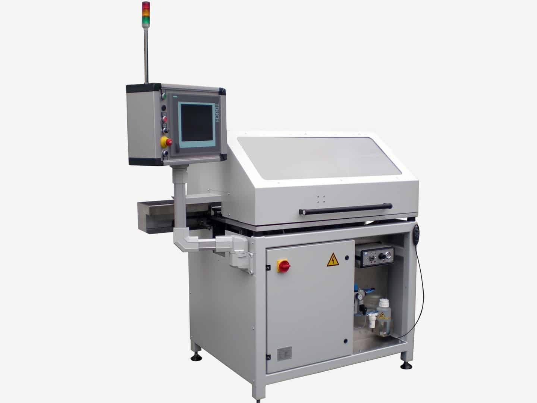 Automatische Prüfanlage zur optischen Inspektion von Gussteilen