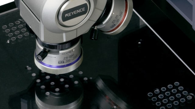Motorized stage for video microscope for stitching